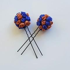 Hair Pins (2)- Bridal/Race/Formal Wear