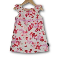 SIZE 1 CHERRY BLOSSOM DRESS - FREE POST