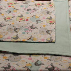 Reversible Flannel Baby Blanket