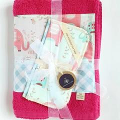 Bath Towel Gift Set - Girl