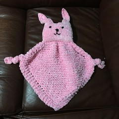 "Baby ""Snuggle Bunny"" - Comforter Pink"