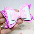 Pink Fuschia Hair Bow