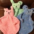 "Baby ""Snuggle Bunny"" - Comforter Blue"