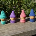 Crochet Cork Gnomes