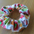 The Devonport Scrunchie in Various Christmas Prints