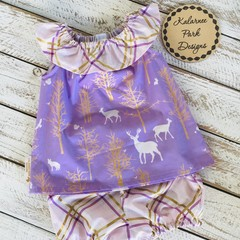 Seaside Top & Bloomers Size 00