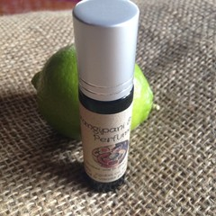 Frangipanni & Lime Perfume   10ml roll on