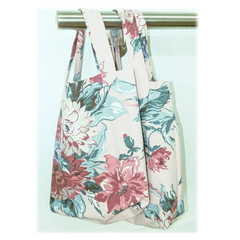 Mother's Day gift. Large market bag, sturdy cotton,