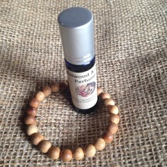 Sandalwood & Orange Perfume  10ml roll on