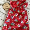 Order for Deborah Aussie Christmas Dress size 3 with Big Red Stretchy Head band.