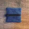 Small Upcycled Denim Coin Purse