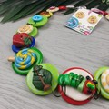 The Story of the Caterpillar - Button Necklace - Teacher