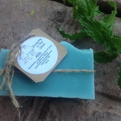 Mint and Tallow Handmade soap