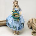 Pisces inspired art, OOAK art doll, fish totem, Zodiac theme doll, Balance
