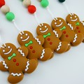 Silicone Gingerbread Teether