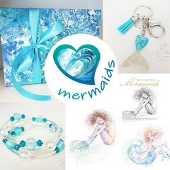 Mermaid GIFT BOX Bundle Christmas Present Set