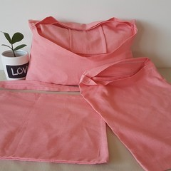 Pink Tote bag 3 pack