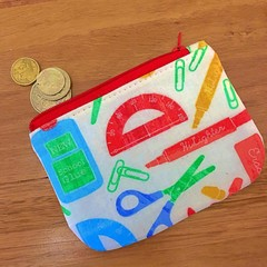 Coin purse - school supplies