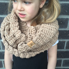 the Squish & Bentley infinity scarf