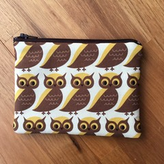 Coin Purse - Owls