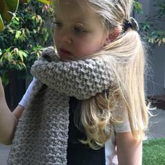 the Quail & Curtsey scarf