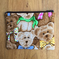 Teddy Bear Print Purse