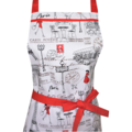 Paris Red Dress Women's Apron FREE Post !