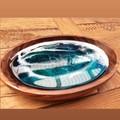 Resin Ocean Dish- (Jewelry Dish, Crystal/ Gem Holder, Trinket Dish, Ring Dish)