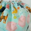 Large Drawstring Bag - Nursery Rhyme Central Design