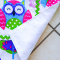 Kids/Toddlers Apron - boys & girls l'iL Owl lined kitchen apron
