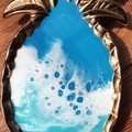 Resin Ocean Pineapple Trinket Dish