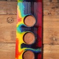 Dip Tray ( No Bowls ) - Rainbow