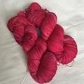 4ply hand dyed Australian merino/nylon sock yarn 390m 100g 'wilder raspberry'
