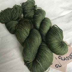 4ply hand dyed Australian merino/nylon sock yarn 390m 100g 'vine'