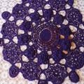 Hand crochet OOAK floor mats