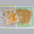 Framed Vintage / Retro Illustrated Fashion Sewing Pattern with Pattern / 7795