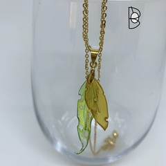 Gum Leaves pendant - various slightly different styles