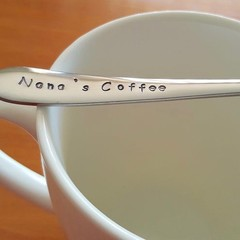Custom Title for Grandparent Coffee Spoon, Nana, Grandma