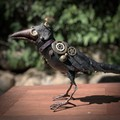 Art Doll Crows and Magpies
