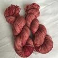 4ply hand dyed Australian merino/nylon sock yarn 390m 100g 'briar rose'