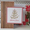 Christmas card, bundle of 3