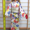Barbie clothes, Japanese kimono set for Barbie doll and PoppyParker, handmade