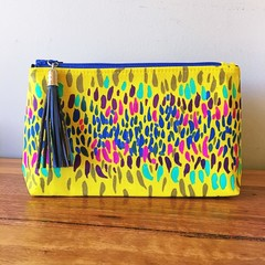 Pouch - yellow