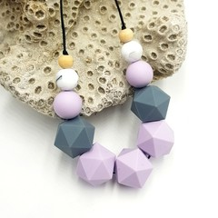 Lavender Statement Necklace
