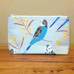 Pouch - budgie