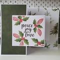 Christmas card, bundle of 3