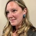 Resin Earrings - Turquoise