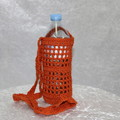 Crochet Water Bottle Holder (Earthy Tones Collection)