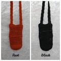 Crochet Water Bottle Holder (Earthy Tones Collection)