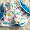 Shark under the sea shorts - cotton - kids - baby - toddler